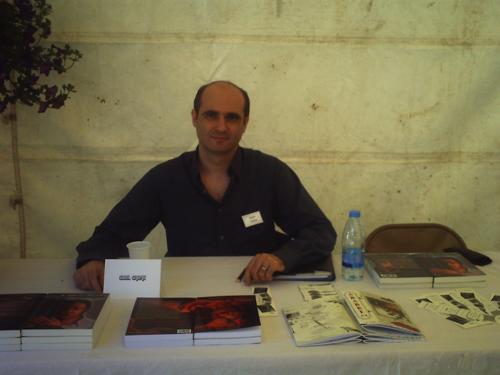 14eme fête du livre à la cadière d'Azur Cyril1