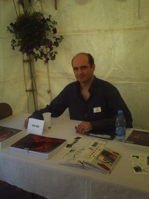 14eme fête du livre à la cadière d'Azur Cyril2