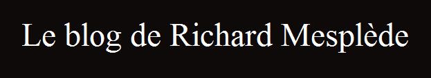 Le blog de Richard Mesplède Ses récits, ses lectures, ses travaux d'écriture