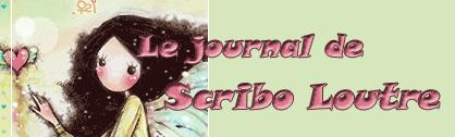 Le journal de Scribo Loutre Taptap… tap… fait la loutre sur le clavier