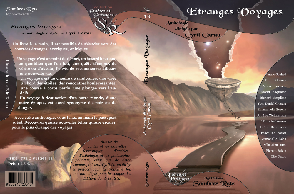 Parution de l'anthologie Etranges Voyages