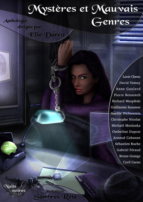 1couv voleuse - Souscription et couverture de Mystères et Mauvais Genres