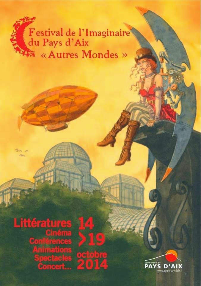 6e salon de l'Imaginaire du Pays d'Aix à Lambesc «Autres Mondes»