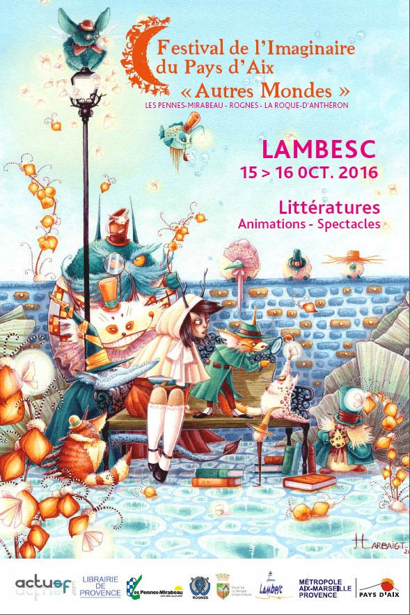 Imaginaire en Pays d'Aix, festival 2016