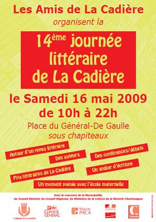 cadiere fete pf 2009 - Un salon littéraire à la Cadière