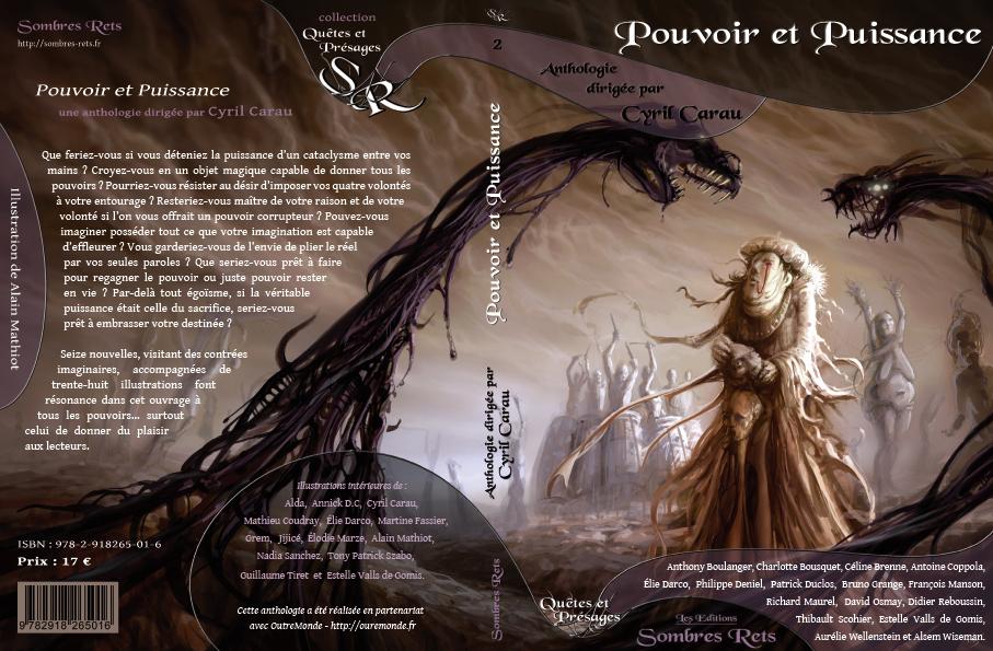 """couv1 4 pouvoir puissance - Anthologie """" Pouvoir et Puissance """" Sombres Rets & OutreMonde"""